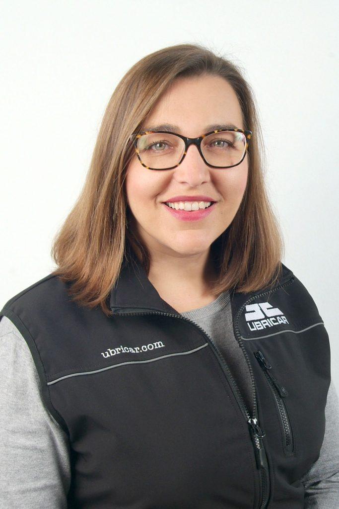 Montse Chacón, gerente de Ubricar