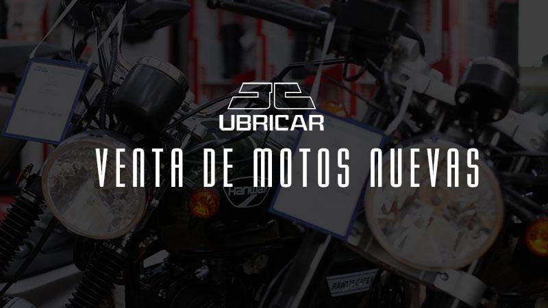 Venta de motos nuevas en Ubricar